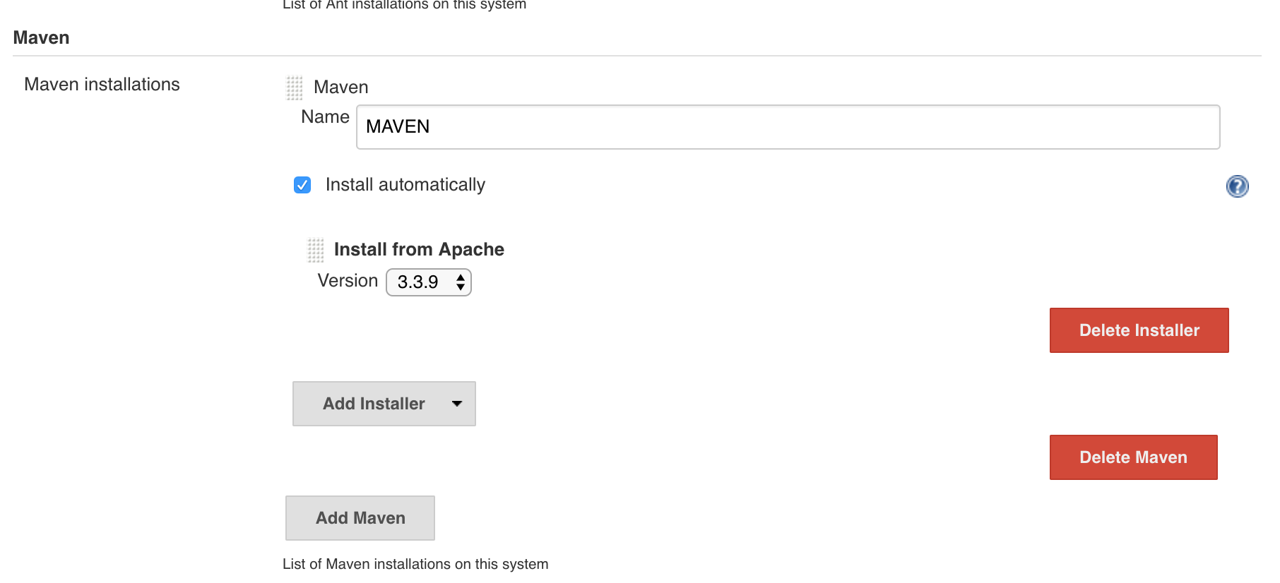 Add Maven and JDK