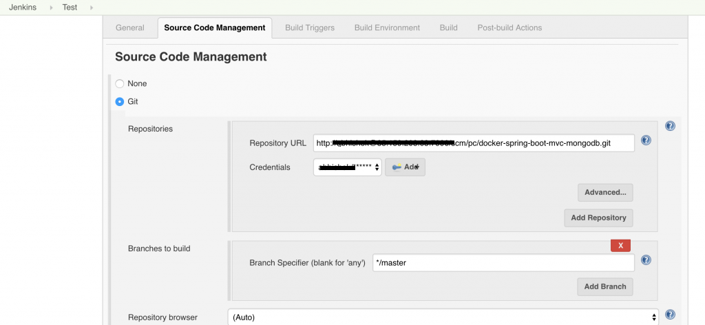 How to enable jenkins to auto build with BitBucket server - Little